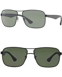 fc5315f656 Lyst - Ray-Ban Unisex Navigator Metal Frame Sunglasses for Men