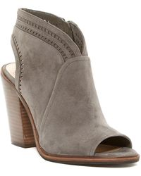 Vince Camuto - Koral Perforated Open Toe Bootie - Slim Width Available - Lyst