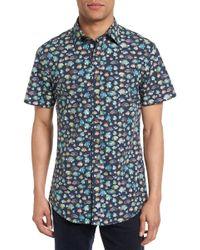 Rodd & Gunn - Hawkdune Regular Fit Print Sport Shirt - Lyst