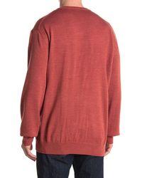Cutter & Buck Douglas V-neck Sweater - Multicolour