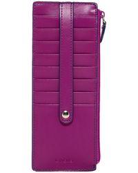 Lodis - Audrey Leather Credit Card Case - Lyst