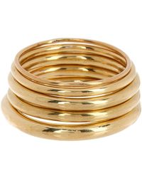 Soko - Saturn Stacking Rings - Size 6 - Lyst