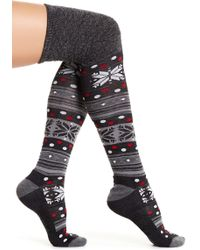 Smartwool - Fiesta Flurry Over-the-knee Socks - Lyst