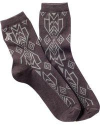 Pendleton - Winter Woods Anklet Socks - Lyst
