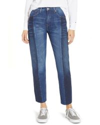Tommy Hilfiger - Izzy Panelled Slim Ankle Jeans - Lyst