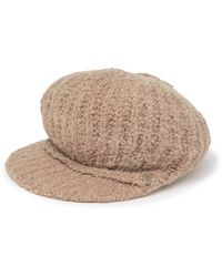 Echo Boucle Knit Gibson Hat - Multicolor