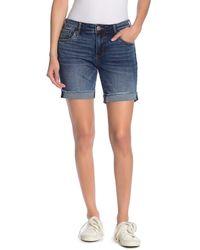 Kut From The Kloth Katy Boyfriend Shorts - Blue