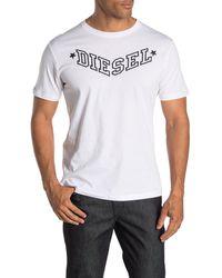 Mens Diesel R-Joe-I T-Shirt in Blue