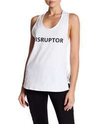 Sam Edelman - Disruptor Side Tie Tank Top - Lyst