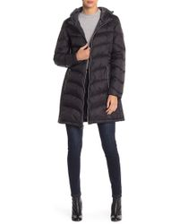 Lucky Brand - Missy Hooded Puffer Jacket - Lyst