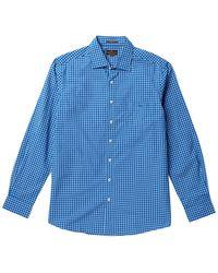 Rodd & Gunn Thistledown Long Sleeve Button-down Shirt - Blue