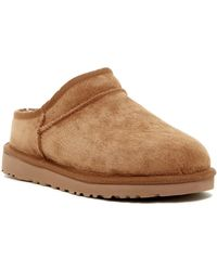 UGG - Classic Pure(tm) Water Resistant Suede Slipper - Lyst