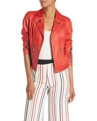 Insight - Pebbled Faux Suede Jacket - Lyst