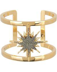 Vince Camuto - Crystal Star Cuff Bracelet - Lyst