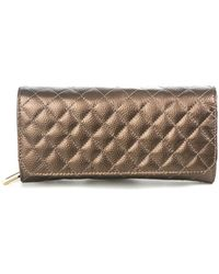 Zenith - Quilted Leather Clutch - Lyst