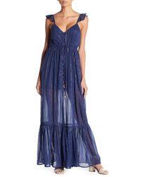 MAJORELLE - Metallic Brasillia Dress - Lyst