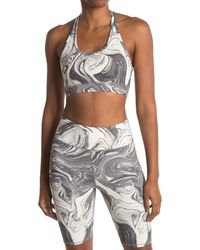 Threads For Thought Zelma Marble Sports Bra - Multicolor