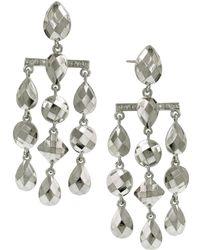 1928 - Stone Chandelier Earrings - Lyst