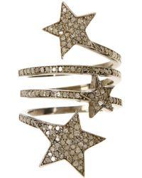 Adornia Starra Champagne Diamond Ring - 1.50 Ctw - Metallic