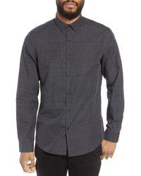 Calibrate - Trim Fit Print Sport Shirt - Lyst