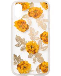 Sonix - Autumn Floral Clear Coat Iphone X Case - Lyst