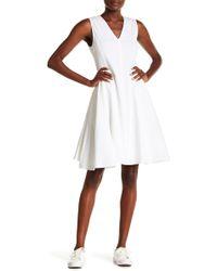 Theory - Kalsington Textured Dress - Lyst