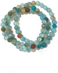 Charlene K - Agate Gemstone Bracelet - Set Of 3 - Lyst