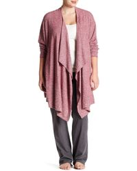 Barefoot Dreams - Front Cardigan (plus Size) - Lyst