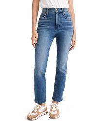 Madewell Slim Demi-boot Jeans - Blue