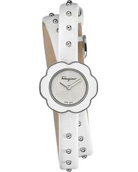 Bulova Women's Cape Jewel Head & Silicone Strap Watch, 40mm - Metallic