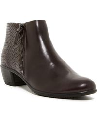Ecco Touch 35 Bootie - Brown