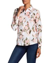 Foxcroft - Brooke Floral Blouse - Lyst