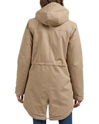 Volcom Walk On By Hooded Parka - Natural