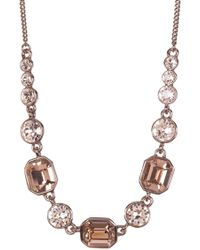 Givenchy - Square Crystal Necklace - Lyst