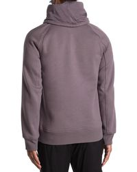 Helmut Lang Brushed French Terry Cowl Neck Hoodie - Multicolor