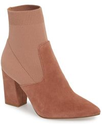 5a624efbed8 Lyst - Steve Madden Divinity Bootie (women) in Gray