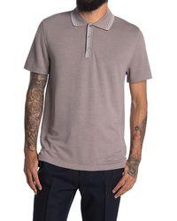 Reiss Innes Pique Tipped Polo Shirt - Multicolour