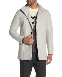 Theory Christopher Louis Coat - Gray