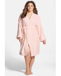Lauren by Ralph Lauren - Cotton Terry Robe (plus Size) - Lyst