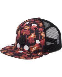 Wesc - Hawaii Night Snapback Cap - Lyst