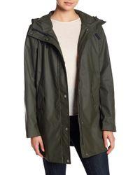 Nautica - Rubberized Rain Jacket - Lyst