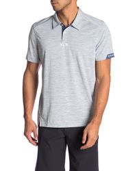5f60d37474f Oakley - Gravity Tailored Fit Polo - Lyst
