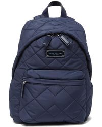 Marc Jacobs - Quilted Nylon School Backpack - Lyst