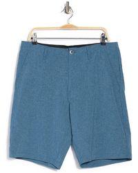 Volcom Kerosene Hybrid Shorts - Blue