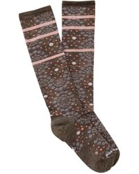 Smartwool - Pompeii Pebble Knee High Socks - Lyst