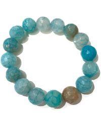 Charlene K - Amazonite Gemstone Bracelet - Lyst