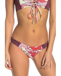 25f1fcd451 Lyst - Maaji Cumbia Society Off-the-shoulder Reversible Bikini Top ...