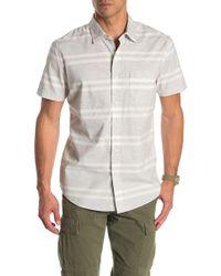 Grayers - Gramercy Stripe Regular Fit Shirt - Lyst