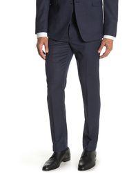 """Original Penguin Birdeye Slim Fit Suit Separates Pants - 30-34"""" Inseam - Blue"""