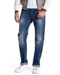 "DIESEL - Safado Distressed Slim Fit Straight Jean - 32"" Inseam - Lyst"